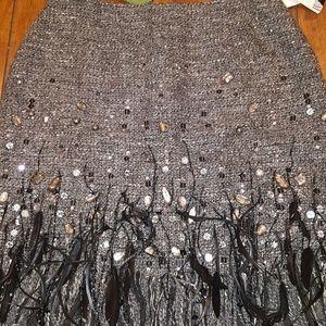 NWT Lafayette 148 Skirt Size 8 Wool Blend